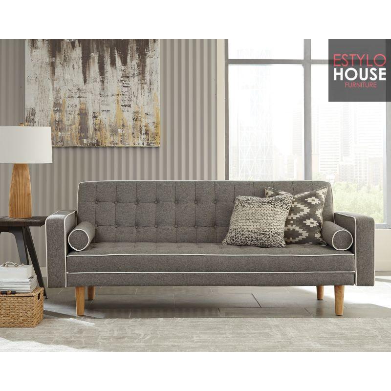 Venta de Sofa Cama Futon Gris, Sofa cama moderno,sofa cama ...
