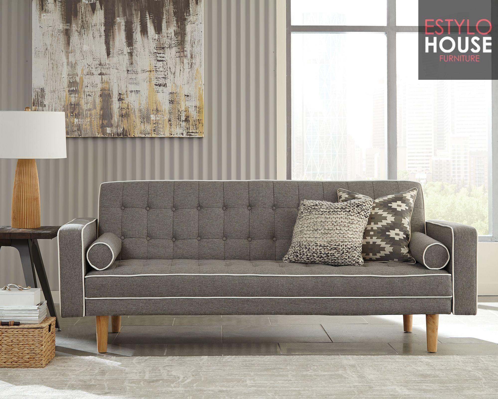 Venta de Sofa Cama Futon Gris, Sofa cama moderno,sofa cama matrimonial
