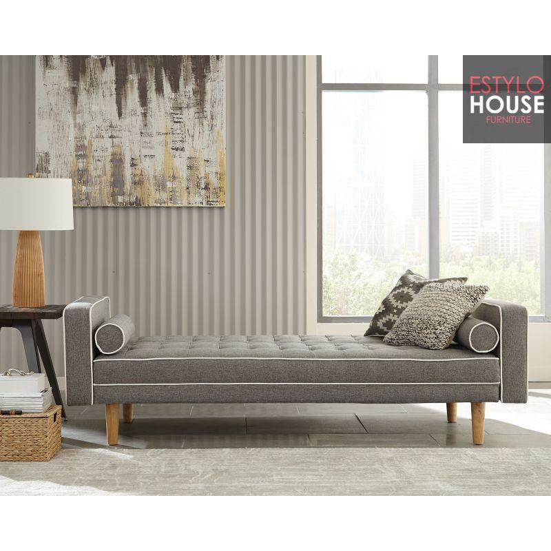 Venta de sofa cama futon gris sofa cama moderno sofa cama for Sofa cama monterrey
