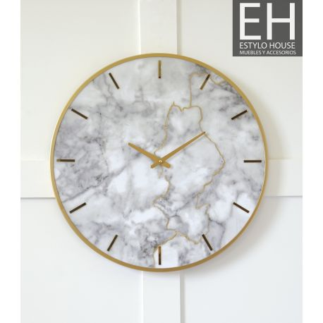 Reloj De Pared Elegante, Reloj Para Colgar En Pared Moderno