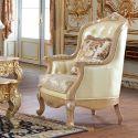 Sala Metz, sala clásica aperlada estilo Luis VX