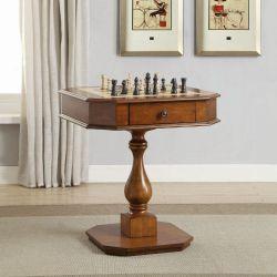 Mesa de juegos clásicos, mesa de ajedrez, mesa de entretenimiento