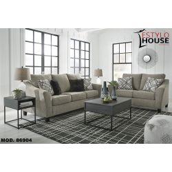 Sala Moderna, elegante y minimalista en color gris